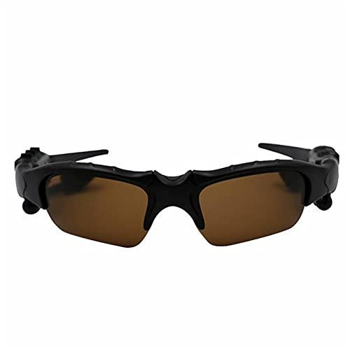 YCHH Nuevas Gafas de Sol Inteligentes portátiles para Auriculares de Deportes al Aire Libre, Auriculares estéreo, Auriculares, Gafas con micrófono de micrófono (Color : 3)
