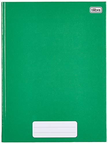 Caderno Brochura Capa Dura Universitário, Tilibra, Pepper, 20x27.5cm, 80 Folhas, 1 Matéria, Verde