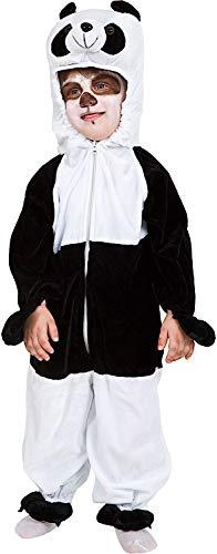 Costume di Carnevale da Karate Panda Vestito per Neonato Bambino 1-4 Anni Travestimento Veneziano Halloween Cosplay Festa Party 2028 Taglia 1