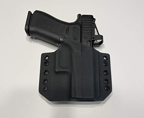 Black Kydex Holster Compatible with Glock 43x MOS