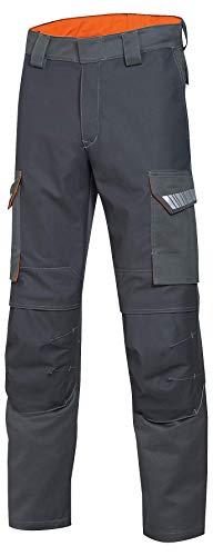 Uvex Arbeitshose Protection Metal 8935 - Flammhemmende Bundhose, anthrazit-orange, Gr. 42