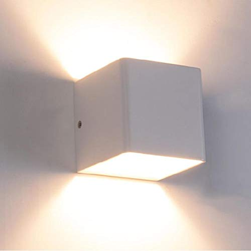 3W LED lámpara de pared luminaria Apliques Pared escalera interior luminaria dormitorio junto a la cama sala de estar Home Hallway Lamparas de Pared: Amazon.es: Bricolaje y herramientas
