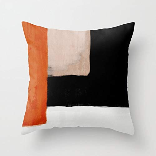 GYYbling Pillow Case Medieval Century Pattern Throw Pillowcase Minimal Lines Abstract Decorative Cushion Cover Hug Pillowcase A2 45x45cm 1pc