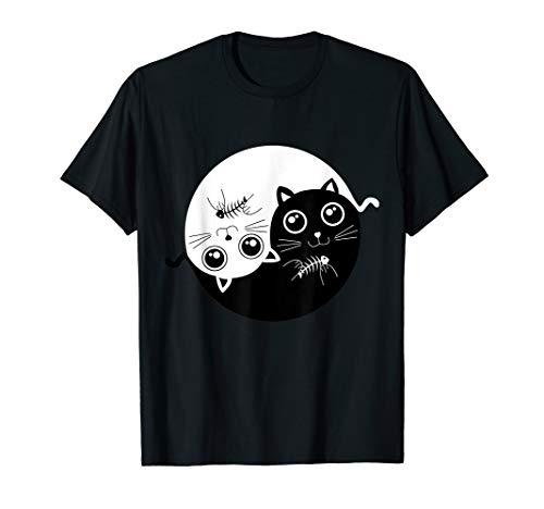 Cat ying yang - cat yin yang shirt