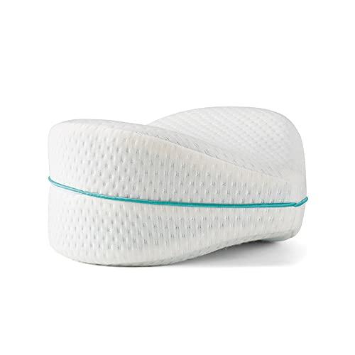 BEST DIRECT Leg Pillow Medizinprodukt Original aus Dem TV-Werbung - Weich Memory-Schaumstoffkissen für Beine Hilft Beckenbereich Beine Hüften Wirbelsäule Richtige Schlafhaltung gegen Rückenschmerzen