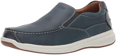 Florsheim Men s Ontario Moc Toe Slip On Loafer Indigo 13 Wide product image