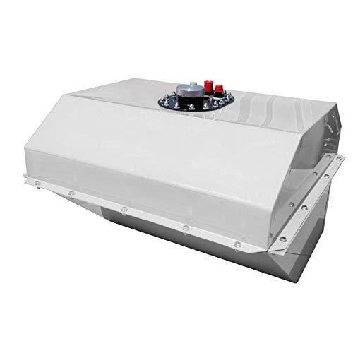 RCI 22 Gallon Steel Teardrop Fuel Cell, White