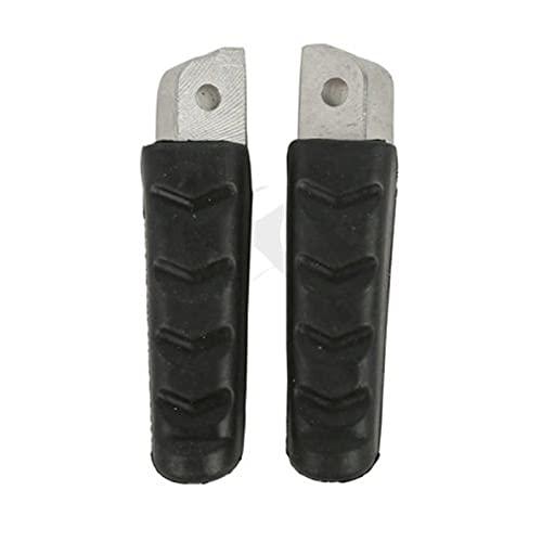 para estrenar Pasos Delanteros Delanteros de la Motocicleta Footpegs para B.M.W F800S F800ST F800 R1200RS ST F800GT 2011-2012 para F800 R1200 Pedal dedicado Repararse (Color : Rear)