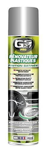 GS27 - Rénovateur Plastiques sans Silicone satiné 600 ML - PR110141
