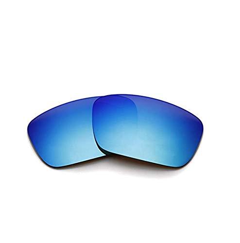 XDXART Polarisierte Ersatzgläser für Oakley Fuel Cell OO9096 (Blue)