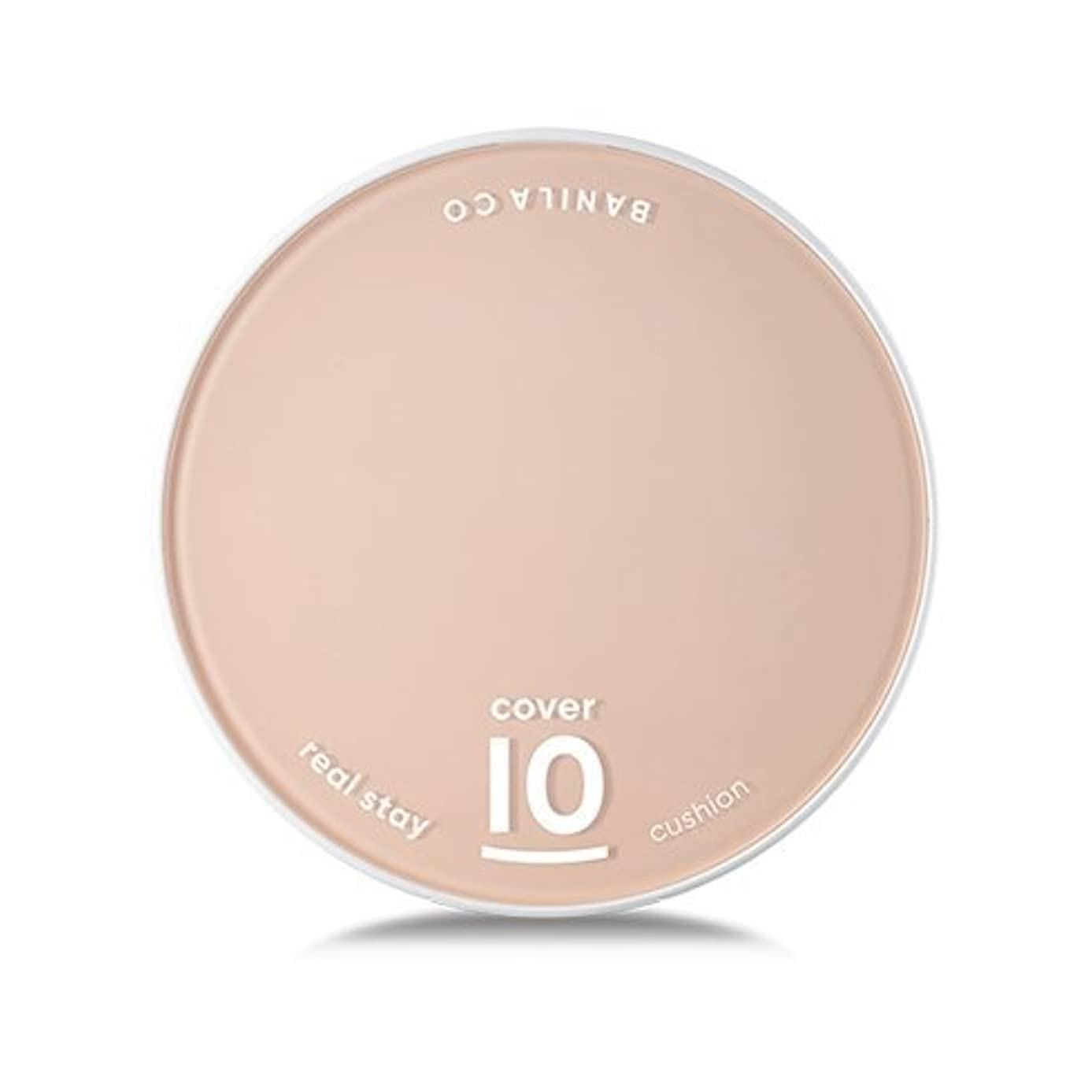 盗難レール好き[Renewal] BANILA CO Cover 10 Real Stay Cushion 15g + Refill 15g/バニラコ カバー 10 リアル ステイ クッション 15g + リフィル 15g (#BE20) [並行輸入品]