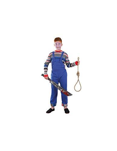 DISBACANAL Disfraz de muñeco diabólico niño - -, 6 años