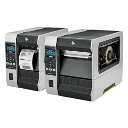 Zebra ZT610 Éplucheur 24 points/mm (600dpi), éplucheur Rewind, Disp, ZPL, ZPLII, USB, RS232, BT, Ethernet