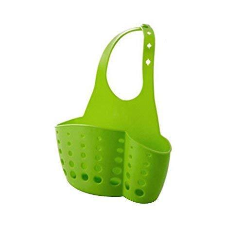 Mensole Kitchen Sink Organizzatore carrello Porta spugna piatto di sapone Green Flower Pot Rack Zixin