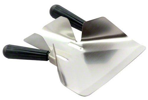 American Metalcraft Stainless Steel Double Handle Fry Scoop