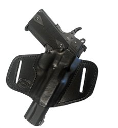 Pro Carry Gun Holster EAA Witness 7 Right Hand Outside The Waistband Black Leather