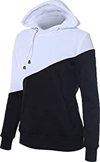 Multi Color Mixed Round Neck Hoodie & Sweatshirt For Women