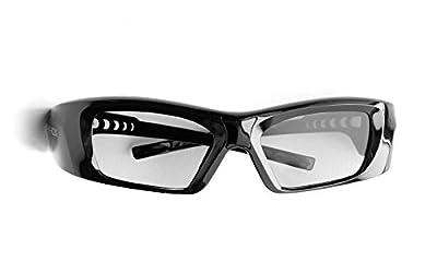 Hi-SHOCK RF Pro 3D Glasses High Diamond for JVC Projector - 90° Degree Polarized | Compatible with Original JVC PK-AG3 Glasses/PK-EM2 Emitter | Better Contrast - Rechargeable [39g | 120 Hz]