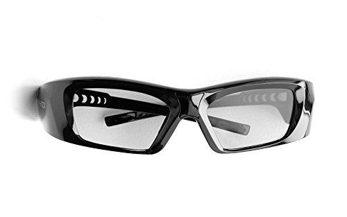 Hi-SHOCK RF Pro 3D Glasses High Diamond for JVC Projector - 90° Degree Polarized   Compatible with Original JVC PK-AG3 Glasses/PK-EM2 Emitter   Better Contrast - Rechargeable [39g   120 Hz]