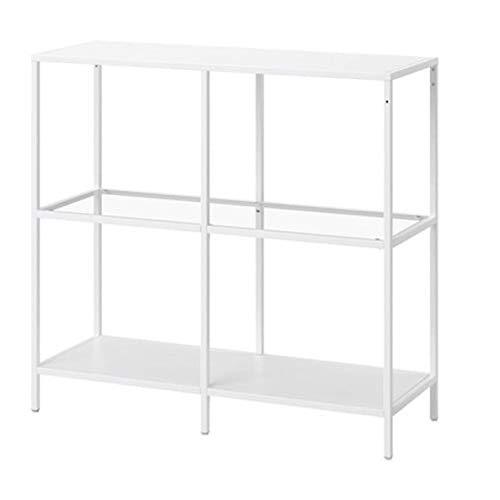IKEA 103.058.02 Vittsjo Regal aus weißem Glas, Größe 39, 9,5 x 91,4 cm