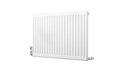 Kartell Kompact Type 11 radiator met enkel paneel, 600 x 800 mm, wit