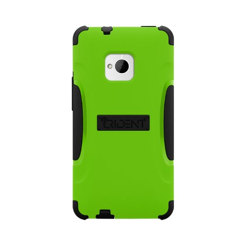 Trident Case AEGIS Series Protective for HTC One - Retail Packaging - Red