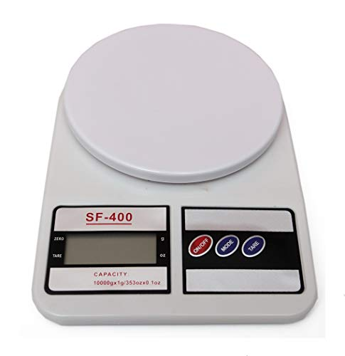 Wildlifephotographyshop 10kg Cocina electrónica Digital o balanzas Postales de Oficina, Kitchen or Postal Scales. Pesa hasta 10kg