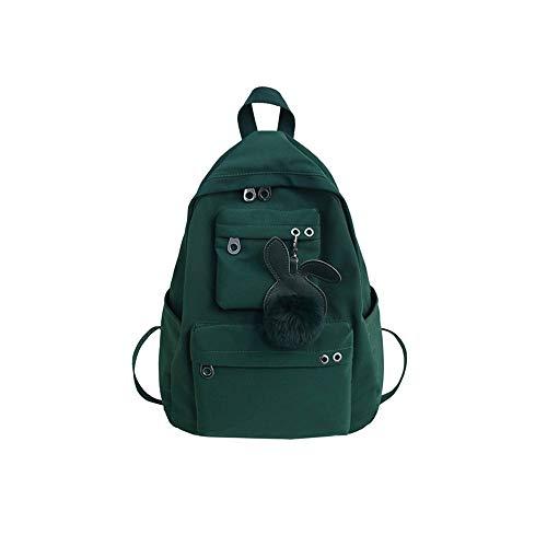 ZZYJYALG Backpack Purse for Women Schoolbag Female Korean Campus, Joker Simple High School Junior High School Students Backpack, Travel Backpack, Leisure Cute Notebook School Backpack Bag