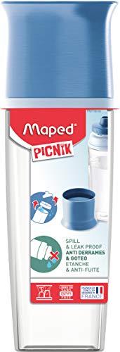 Maped Picnik Concept Besteck-Set für Erwachsene Wasserflasche blau