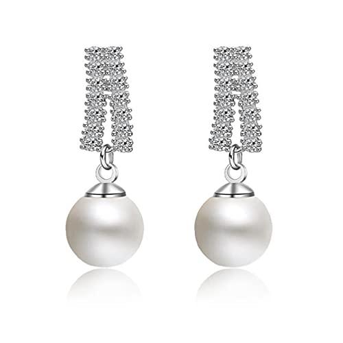 Pendientes de boda brillantes para mujer, regalo de amiga, pendientes para mujeres, pendientes de oreja para mujer, pendientes de oro, pendientes para niñas, pendientes de plata