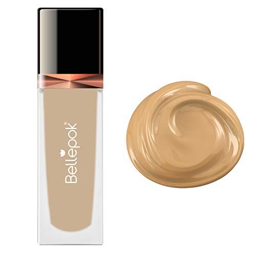 Silk Liquid Foundation N°5 Beige Air Brush Maquillage sans cruauté SPF30 PA +++ 35 ml