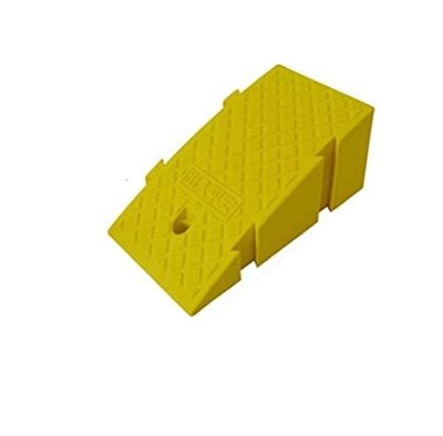 Rollstuhlrampe Park-Eingang Rampen, Familien-Auto-Rampen Fahrzeug tragbarer Kunststoff Rampen Elektro-Rollstühle Rampen/for Roller Up und Downhill praktisch (Color : Yellow, Size : 25 * 45 * 19cm)