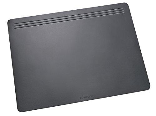 Läufer 32706 Matton Schreibtischunterlage 49x70 cm, schwarz rutschfeste Schreibunterlage für besonders hohen Schreibkomfort, hochwertiger Vlies auf der Rückseite