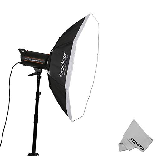 FOMITO Godox Top Octagon Softbox 37 inches Octagon Softbox Photography Light Diffuser and Modifier with Bowens Speedring Mount for Monolight Photo Studio Strobe Lighting