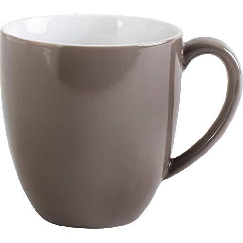 Kaffeebecher 0,40ltr./H.10,5cm XL PRONTO COLORE TAUPE Kahla Porzellan**6 (6 Stück)