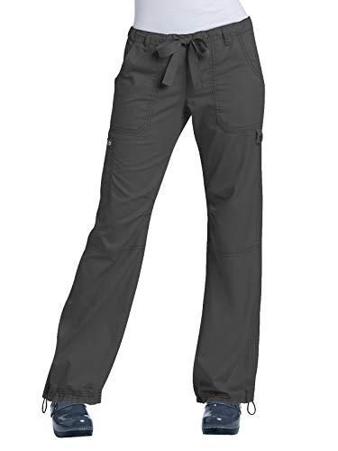 KOI Classics 701 Women's Lindsey Scrub Pant Charcoal M