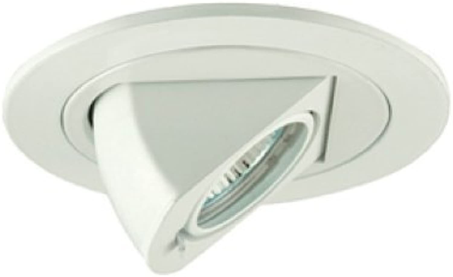 Jesco Lighting TM411WH 4-Inch Aperture Low Voltage Trim Recessed Light, Adjustable Periscope, Weiß Finish by Jesco Lighting Group