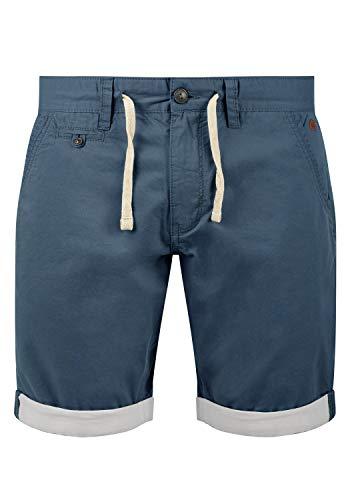 Blend Kankuro Herren Chino Shorts Bermuda Kurze Hose Mit Kordel Aus 100% Baumwolle Slim Fit, Größe:L, Farbe:Ensign Blue (70260)