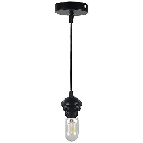 Lustres en fer industriels, décoration de bar rétro LED petit pendentif lumière moderne minimaliste allée balcon magasin de vêtements Mini lampe de plafond (Design : A)