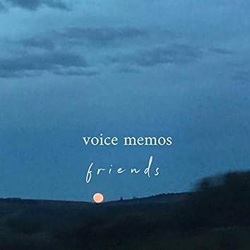 voice memos: friends