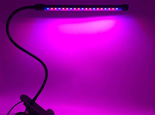 LiQinKeJi8 Lámpara Planta de la lámpara del Crecimiento Vegetal Espectro Llevado suculento de Color Plantación Interior del Invernadero vivero de Flores Luz de Relleno (Color : Single-Tube)