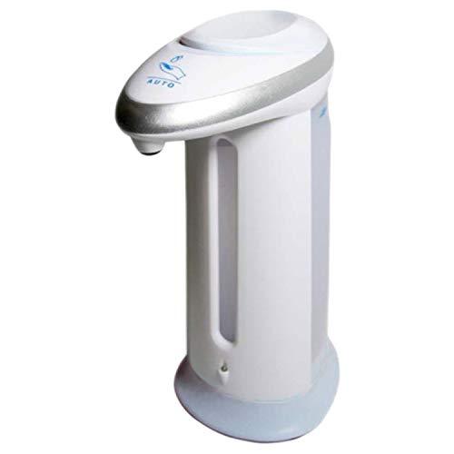 GEEZY Automatischer, batteriebetriebener Seifenspender, berührungsloser IR-Sensor, 330 ml