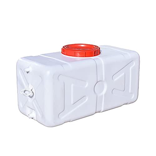 Rectangular Recolección De Agua De Lluvia Barril Enzime Hogar Cucharón Al Aire Libre Cubo Gran Capacidad Al Aire Libre Tanque De Agua Calidad Plástico Plástico Coche Contenedor De Almacena(Size:100L2)