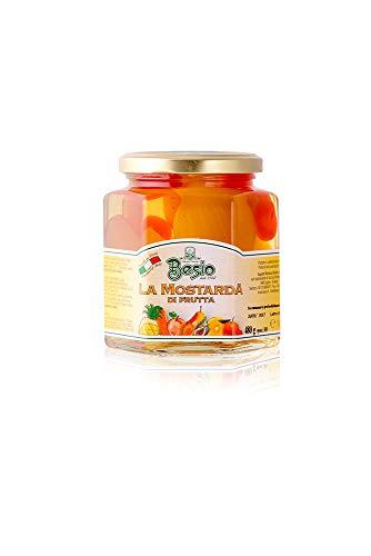 Besio Mostarda Di Frutta Assortita Tipo Cremonese, 480 gr