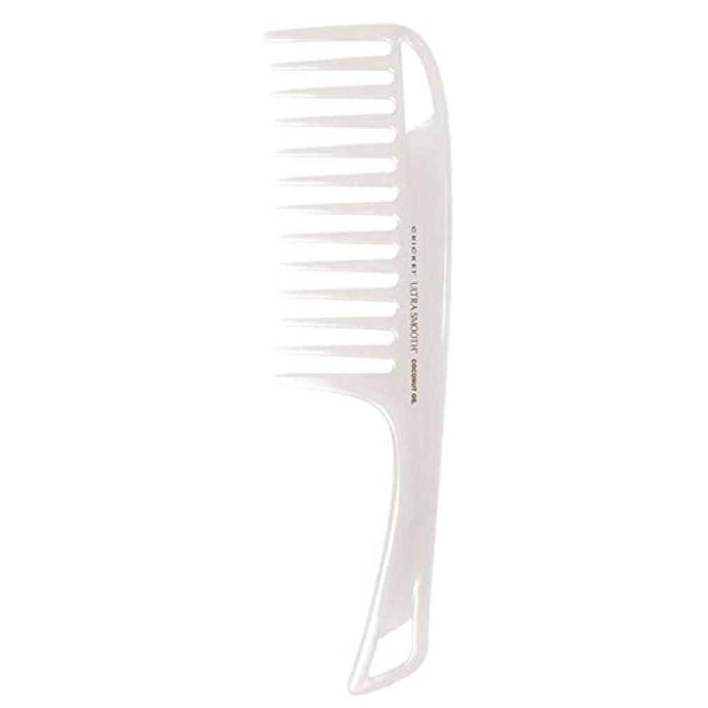 バケットラフレシアアルノルディアンドリューハリディCricket Ultra Smooth Coconut Detangler Comb [並行輸入品]