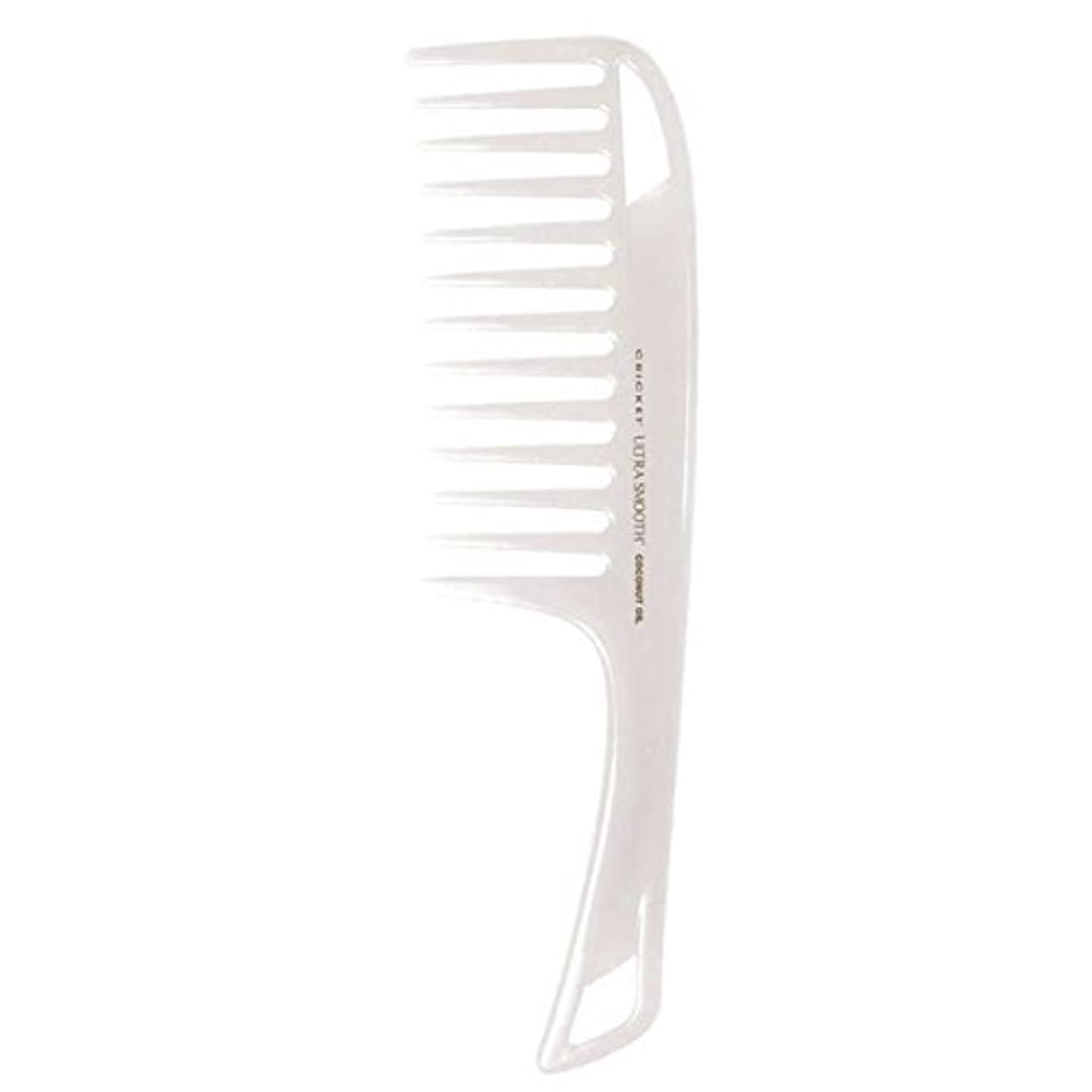悲しむ接続ドラムCricket Ultra Smooth Coconut Detangler Comb [並行輸入品]