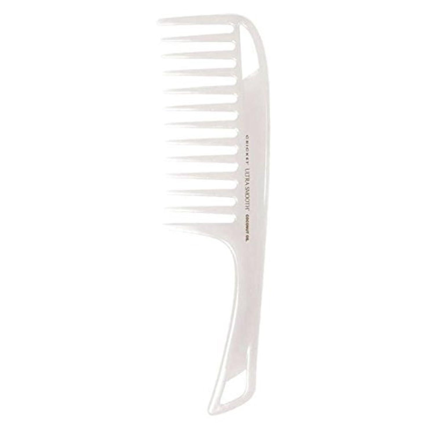 ジャベスウィルソンモード変成器Cricket Ultra Smooth Coconut Detangler Comb [並行輸入品]