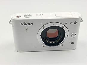 Nikon 1 J1 10.1 MP HD Digital Camera Body Only (White)