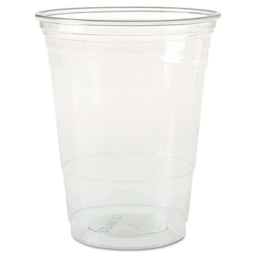 SOLO Cup Company Plastic Party Cold Cups, 16 oz, Clear, 50 pack