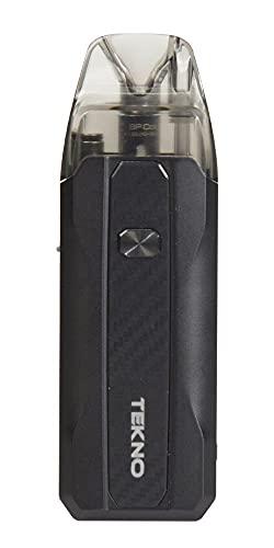 Tekno Aspire Sigaretta Elettronica Svapo Kit 30W con Aspire Pod da 3,5ml e Batteria 1300mAh (BLACK)